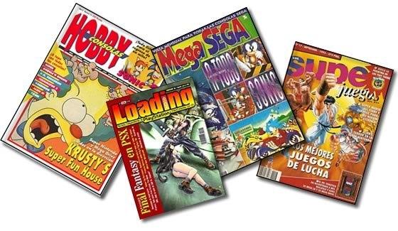 Varias revistas